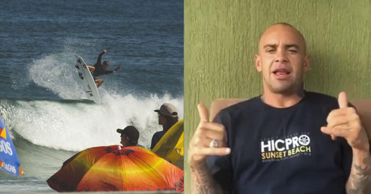 john john florence dando um aéreo e raoni monteiro critica cbs e chama os surfistas brasileiros
