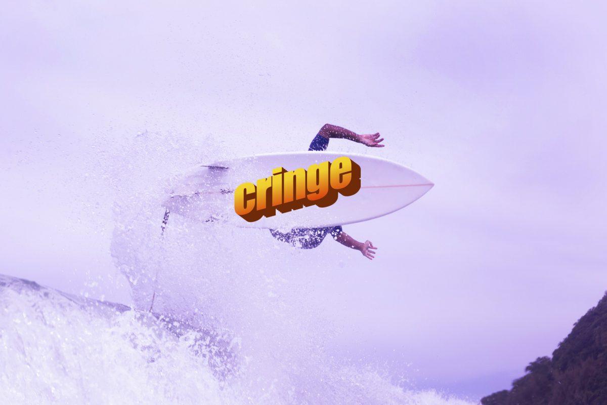 o que é cringe no surf
