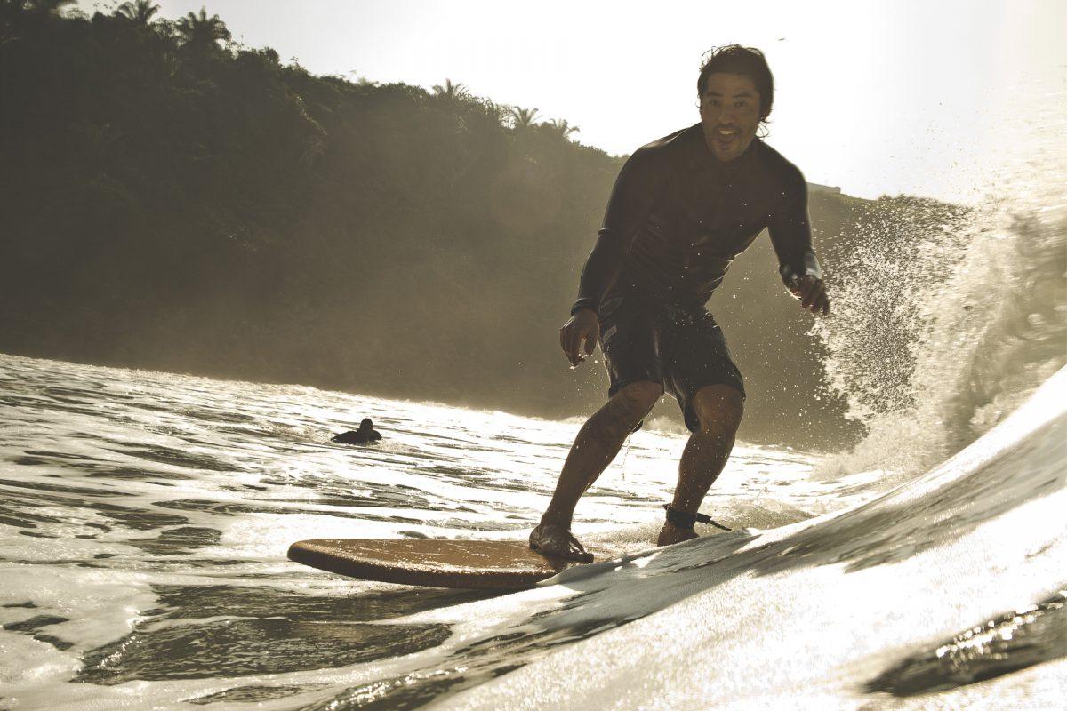 Rodrigo Matsuda surf no Japão